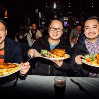 the boys and their schnitzels