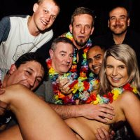 topless barmaid in bucks party
