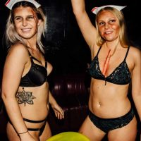 topless barmaids in halloween c