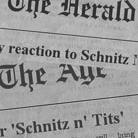 schnitz n tits media critics