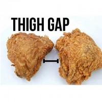 Thigh gap meme