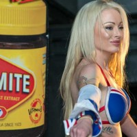 isabelle deltore loves vegemite