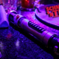 light saber and fork