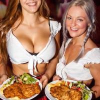 topless waitresses schnitzels