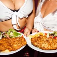 topless waitresses schnitzel