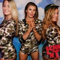 waitresses army camo