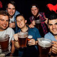Oktoberfest Schnitzntits bucks boys night beer