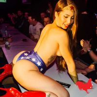 Shae De Lain Wonder woman table