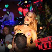 confetti canon fridays burlesque strip tease melbourne