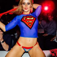 super girl mega babes september