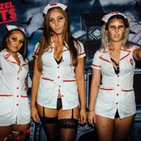 friday night frights in november zombie nurses topless waitress