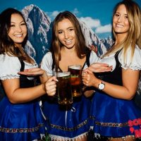 oktoberfest in october beer babes event melbourne to do