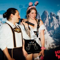 oktoberfest in october lederhosen beer hall dinner show