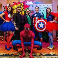 birthday party themes super heros