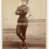 Burlesque Dancer Dolly Adams